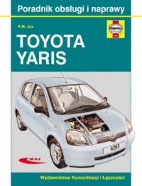 Toyota Yaris - okładka książki