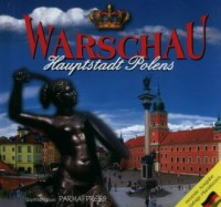 Warszawa stolica Polski wersja - okładka książki