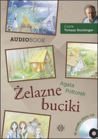Żelazne buciki - Agata Półtorak - pudełko audiobooku