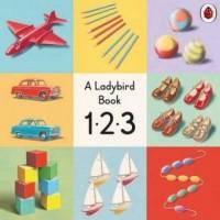 123 A Ladybird Vintage Board Book - okładka książki