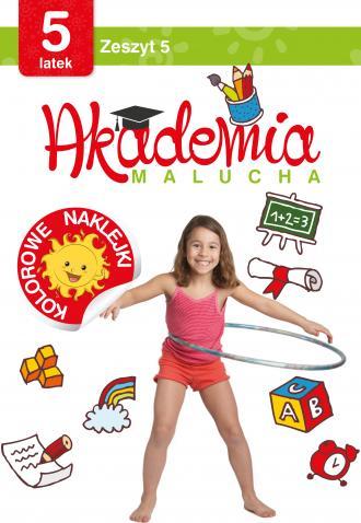 Akademia malucha dla 5-latka. Zeszyt - okładka podręcznika