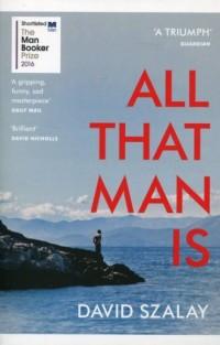 All That Man is - okładka książki