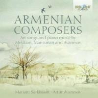 Armenian Composers. Art Songs and - okładka płyty