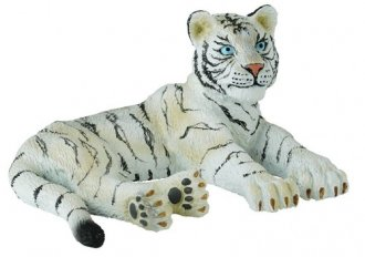 Białe lwiątko leżące M - zdjęcie zabawki, gry