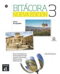 Bitacora 3 Nueva Edicion Curso de espanol - okładka podręcznika