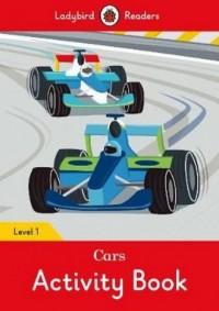 Cars Activity Book Level 1 - okładka książki