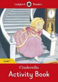 Cinderella Activity Book Level 1 - okładka książki