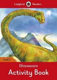 Dinosaurs Activity Book Level 2 - okładka książki