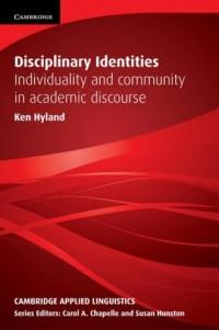Disciplinary Identities. Individuality - okładka podręcznika