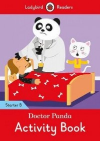 Doctor Panda Activity Book Starter Level B - okładka książki