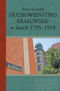 Duchowieństwo krakowskie w latach - okładka książki