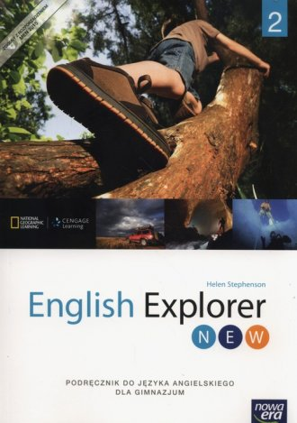 English Explorer New 2. Gimnazjum. - okładka podręcznika