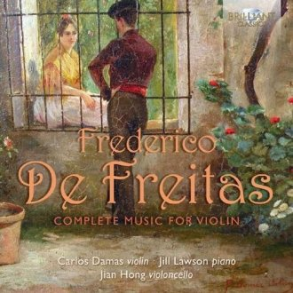 Freitas: Complete Music For Violin - okładka płyty