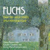Fuchs: Piano Trio, Violin Sonata, - okładka płyty