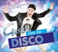 Gesek - Czas Na Disco - okładka płyty