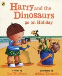 Harry and the Dinosaurs go on Holiday - okładka książki