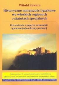 Historyczne mniejszości językowe - okładka książki