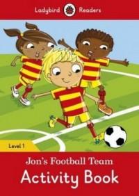 Jons Football Team Level 1 - okładka książki