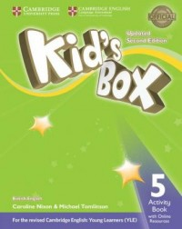 Kids Box 5 Activity Book + Online - okładka podręcznika