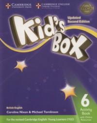 Kids Box 6 Activity Book + Online - okładka podręcznika