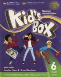 Kids Box 6 Pupil s Book - okładka podręcznika