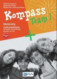 Kompass Team 1. Szkoła podstawowa. - okładka podręcznika