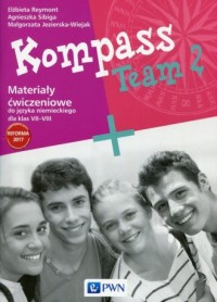 Kompass Team 2. Szkoła podstawowa. - okładka podręcznika