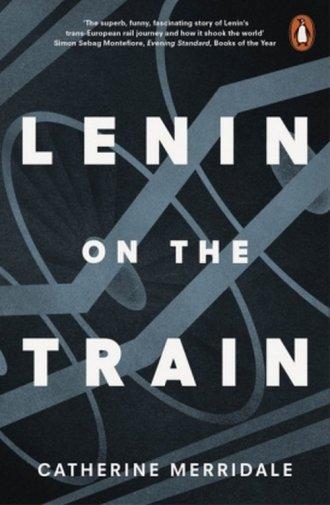 Lenin on the Train - okładka książki