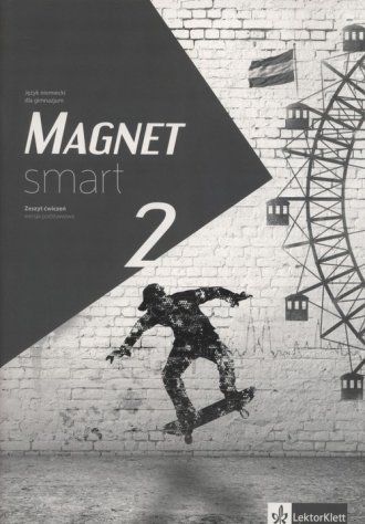 Magnet Smart 2. Gimnazjum. Zeszyt - okładka podręcznika