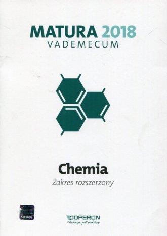 Matura 2018. Chemia. Szkoła ponadgimnazjalna. - okładka podręcznika