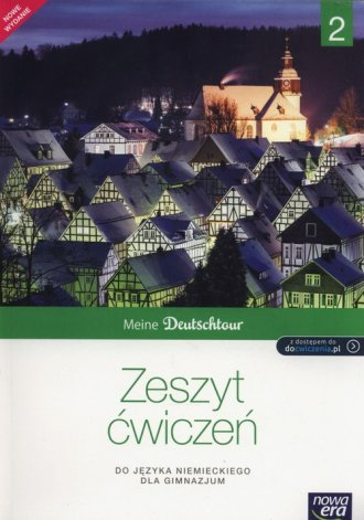 Meine Deutschtour 2. Gimnazjum. - okładka podręcznika