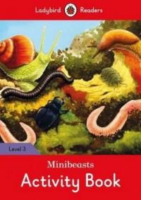 Minibeasts Activity Book Level 3 - okładka książki