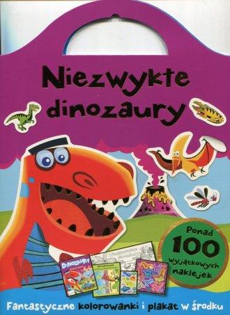 Niezwykłe dinozaury. Fantazyjne - okładka książki