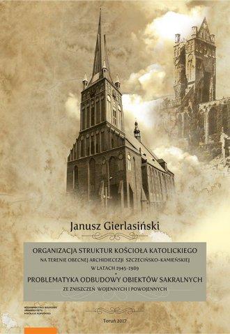 Organizacja struktur Kościoła Katolickiego - okładka książki
