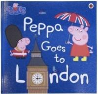 Peppa Goes to London - okładka książki