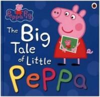 Peppa Pig The Big Tale of Little Peppa - okładka książki