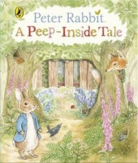 Peter Rabbit A Peep-Inside Tale - okładka książki