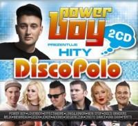 Power Boy Prezentuje Hity Disco Polo - 2CD - okładka płyty