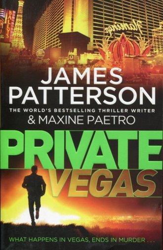 Private Vegas - okładka książki