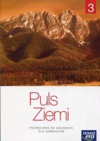 Puls Ziemi 3. Gimnazjum. Podręcznik - okładka podręcznika