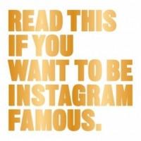 Read This If You Want to be Instagram Famous - okładka książki