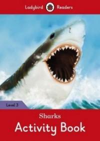 Sharks Activity Book Level 3 - okładka książki