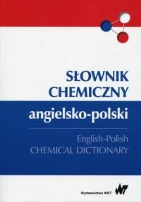 Słownik chemiczny angielsko-polski - okładka książki