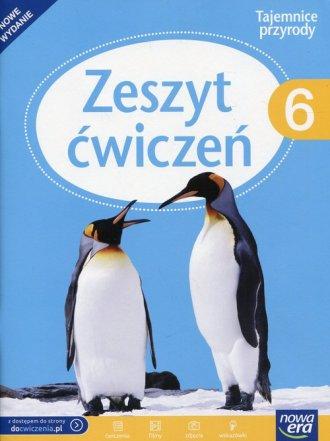 Tajemnice przyrody 6. Szkoła podstawowa. - okładka podręcznika
