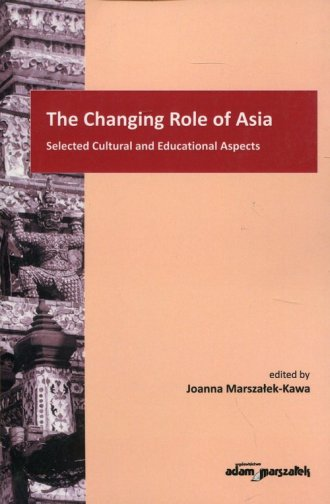 The Changing Role of Asia - okładka książki