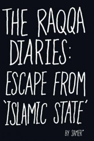 The Raqqa Diaries. Escape from - okładka książki