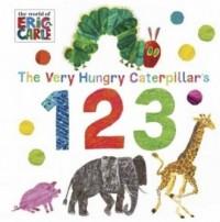 The Very Hungry Caterpillars 123 - okładka książki