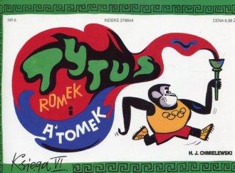 Tytus Romek i Atomek. Księga VI. - okładka książki