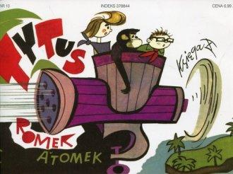Tytus Romek i Atomek. Księga X. - okładka książki