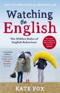Watching the English - okładka książki